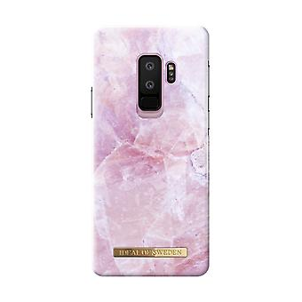 iDeal Of Sweden Samsung Galaxy S9 Plus Marble Shell-Pilion Pink