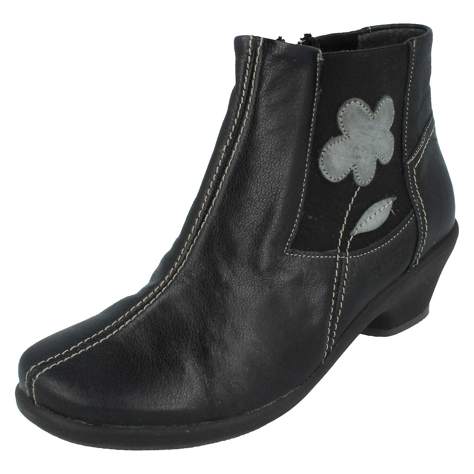 Panie Suave Zip kostkę buty Afra Vj59W