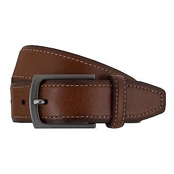 SAKLANI & FRIESE belts men's belts leather belt Brown 7681