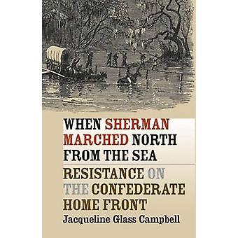 Da Sherman marcherede nordpå fra havet - modstand på Confederat