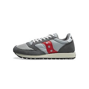 Saucony Grey & Red jazz original vintage sneaker