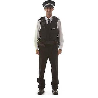 شرطي (الأيل دو/ليلة الدجاجة)-انقطاع الكرتون شمعي/الواقف
