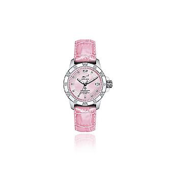 CHRIS BENZ - Diver Watch - DIAMOND DIVER Pink Pearl Harbour - CB-DD200-R-LBR