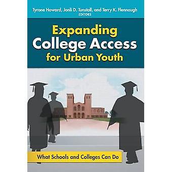 Expansão do acesso da faculdade para a juventude urbana - que escolas e faculdades C