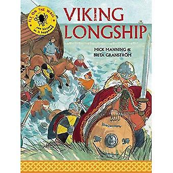 Drakkar Viking (mouche sur le mur)