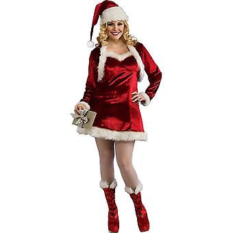 Santa Woman Adult Costume