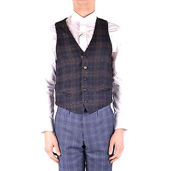 Manuel Ritz Ezbc128023 Men's Blue Polyester Vest