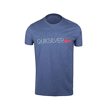 Quiksilver Mens Transit Lane T-Shirt - Navy Heather