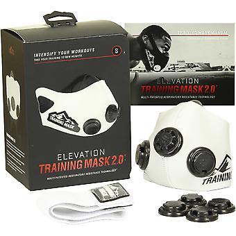 Podniesienie poziomu szkolenia maska 2.0 Edition biały - wszystkie rozmiary - wzrost płuc siły