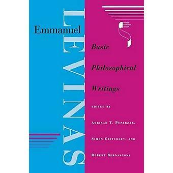 Emmanuel Levinas-grundläggande filosofiska skrifter av Adriaan Theodoor PE