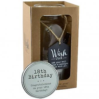 Splosh Wish Jar 18th Birthday | Gifts From Handpicked