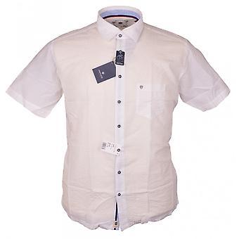 HATICO Hatico Short Sleeve Casual Seersucker Shirt