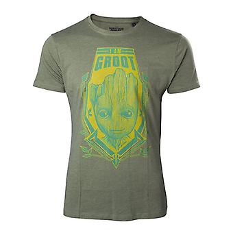 Guardians of the Galaxy Vol 2 I Am Groot Extra T-Shirt - Green XL Size