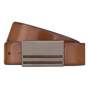 MONTI Leather Belt BERLIN Belt Men's Belt Leather Belt Cognac 8026