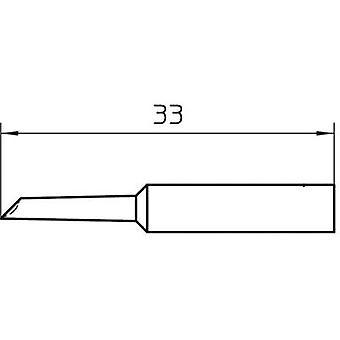 Weller XNT GW Ponta de solda bevelled 45° Tamanho da ponta 2 mm Comprimento da ponta 33 mm Conteúdo 1 pc (s)