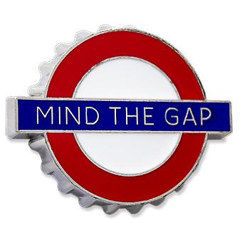 Tfl™3008 licensed mind the gap™ bottle opener fridge magnet