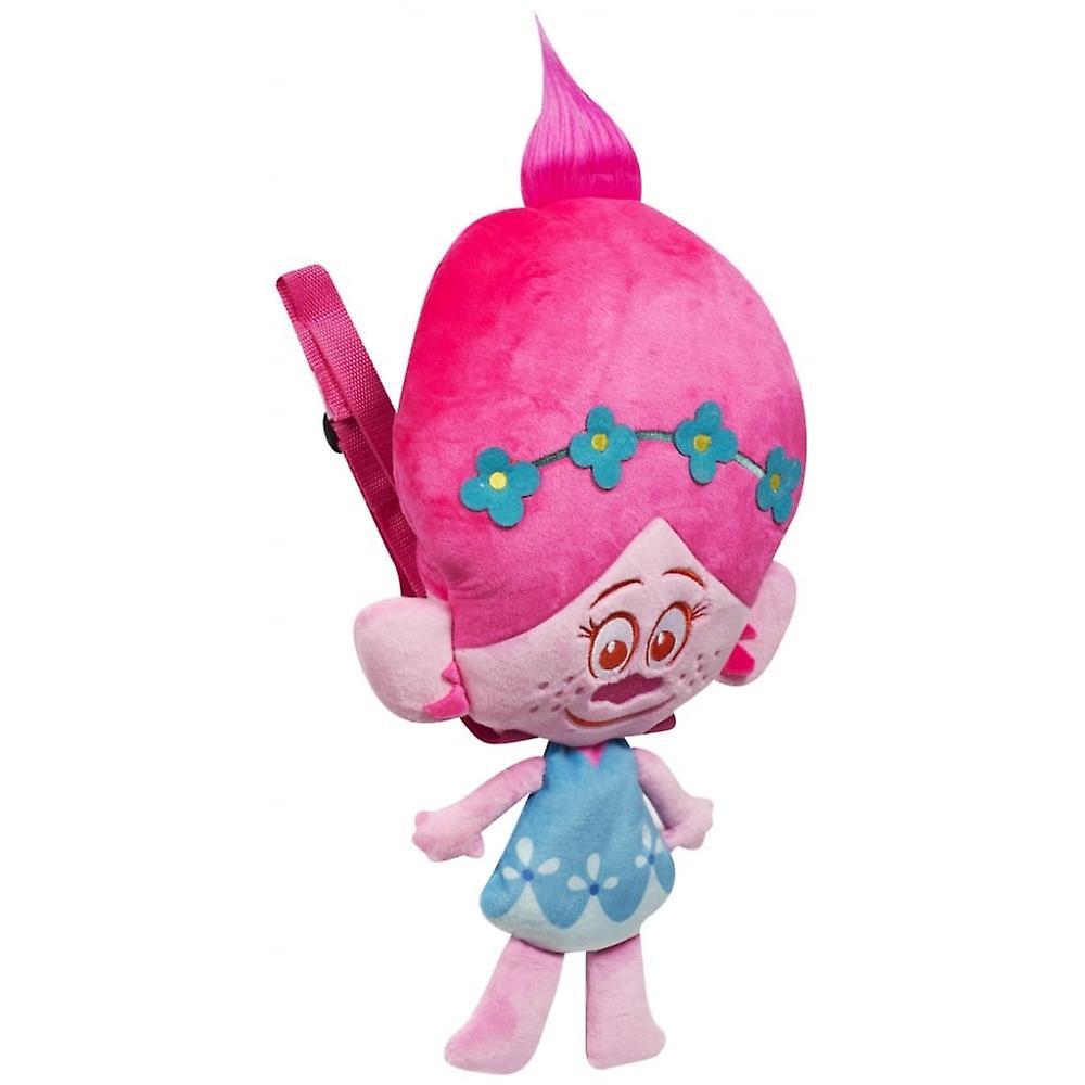 Trolls Poppy plysch ryggsäck