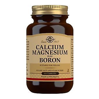 Solgar Calcium Magnesium Plus Boron Tablets 100 (515)