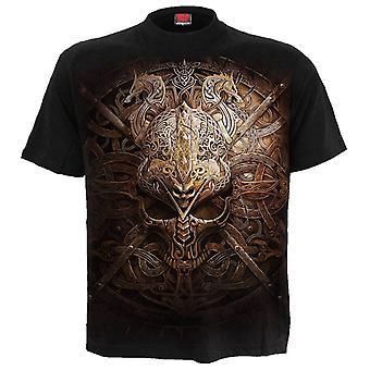 Spiral Viking Shield T-Shirt S