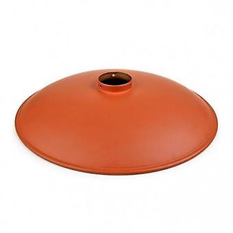 Abat-jour métal Orange vintage