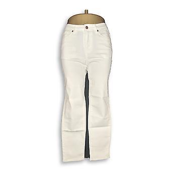 Brooke Shields tijdloze vrouwen ' s Petite jeans gekleurd denim slim wit A311007