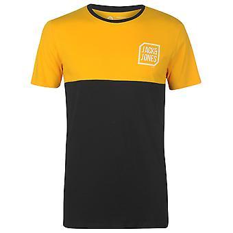 Jack and Jones Men Core Tern T Shirt Short Sleeve Crew Neck T-Shirt Tee Top