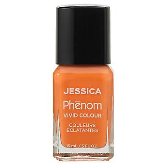 Jessica Phenom Ticket To Paradise Vivid Colour Weekly Nail Polish Collection - Tahitian Sunset 15mL