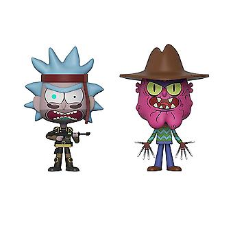 Rick and Morty SEAL Rick & Scary Terry Vynl.