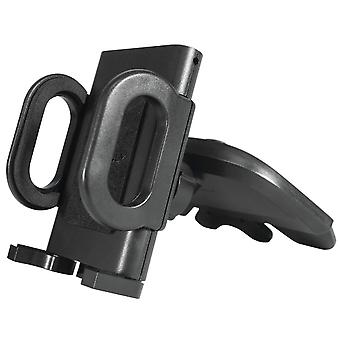 CD Slot Car Phone Mount Holder For Digma Vox S505 3G With a 360 Degree Angle