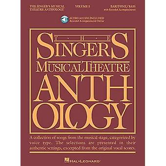 Singer's Musical Theatre Anthology - Volume 5 - Baritone/Bass Book wit
