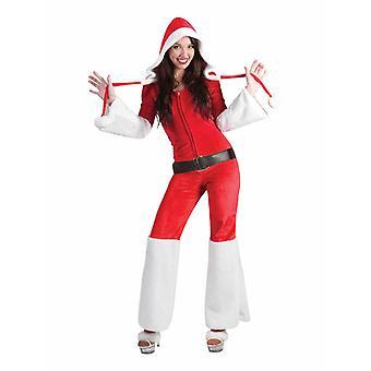 Santa Miss Santa Retro Women's Costume Christmas Nicolelic Women's Costume