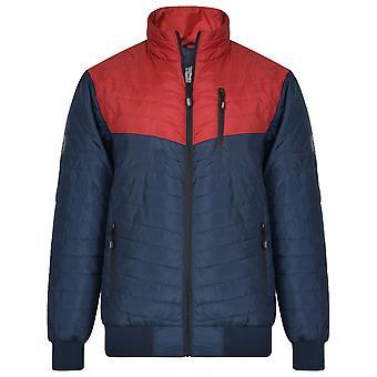 Kam Jeanswear Mens Contrast Chevron Jacket
