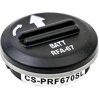 Battery Battery Battery for Petsafe PBC00-10677 X-Longer Replacement Battery Accu Accessories
