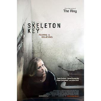 Skelett nyckel (dubbelsidig Advance) original Cinema affisch