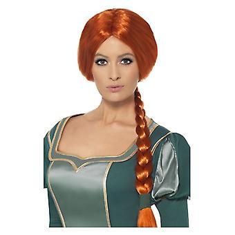 レディース シュレック プリンセス フィオナ ウィッグ デザインの凝った服アクセサリー