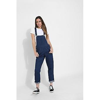 Courtney Damen darkwash denim dungarees