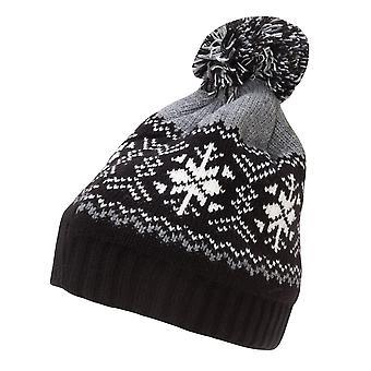 Rock Jock Womens/Ladies Fairisle Ski Hat
