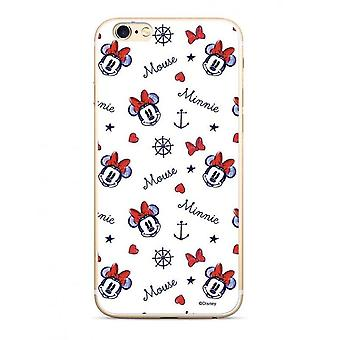 Disney Minnie 007 Back Cover Case for Samsung G930 Galaxy S7 White