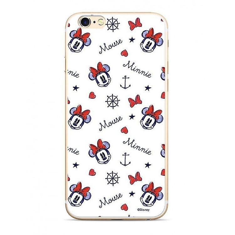 Disney Minnie 007 Back Cover Hülle für Samsung G930 Galaxy S7 Weiß