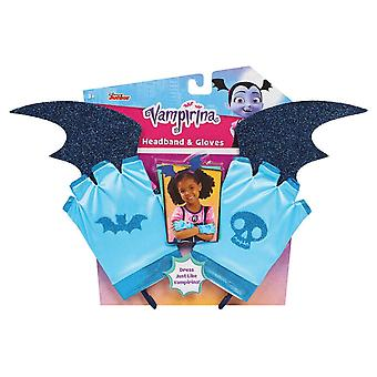 Vampirina Headband & Gloves Set