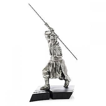 Star Wars By Royal Selangor 017920 LIMITED EDITION Darth Maul Figurine