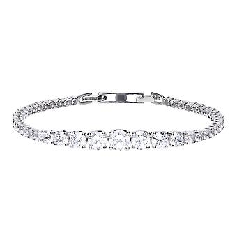Diamonfire Graduated Cubic Zirconia Tennis Bracelet B5203