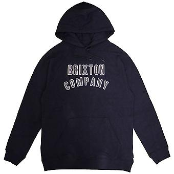 Brixton Barstow Pullover Hoodie Navy