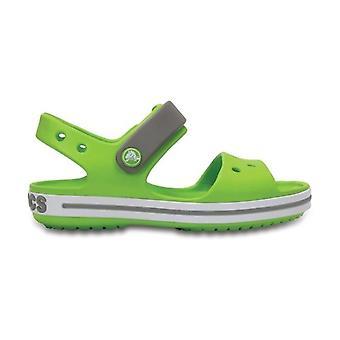 Crocs 12856 Crocband Sandal børne sandaler volt grøn/røg