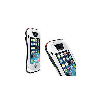 Skrov för iPhone 5 / 5s Etanche Antichocs Vit Aluminium