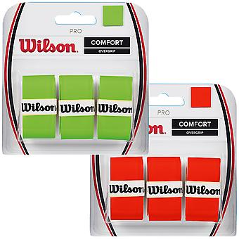Wilson Pro Overgrip for racketer 3 emballere tennis