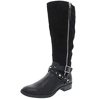 Circus by Sam Edelman Womens Portia Faux Suede Motorcycle Knee-High Boots
