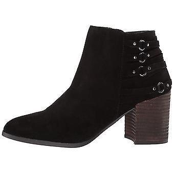 Fergie Women's Boston Ankle Boot, Black, 6 M US
