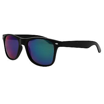 Pulp Mens Iridescent Sunglasses Summer Plastic Frame Tinted Lens