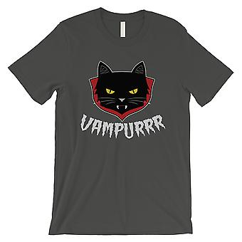 Vampurrr Funny Halloween Costume Cute Graphic Design Mens Cool Grey T-Shirt